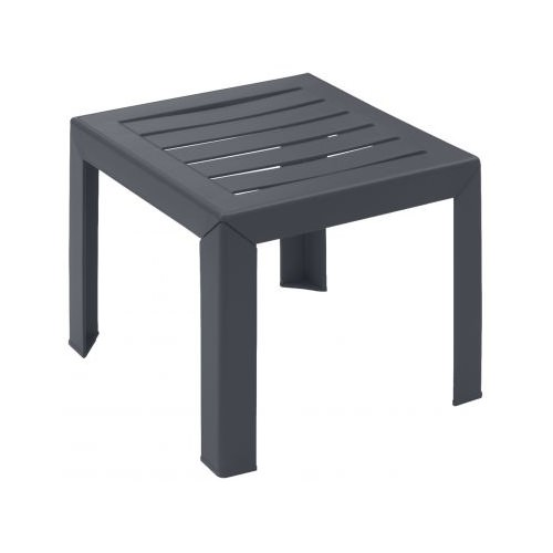 table basse de jardin miami anthracite