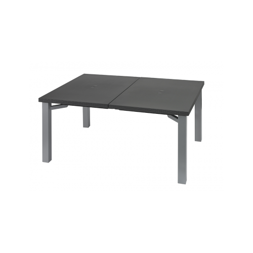 table de jardin ineo anthracite