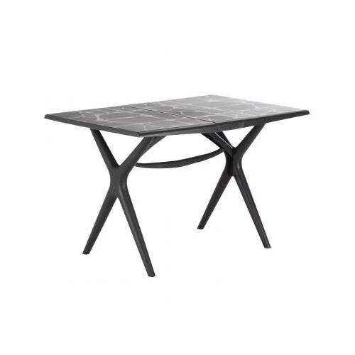 table de jardin sigma anthracite
