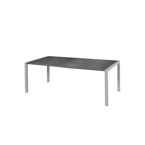table de jardin sunday anthracite