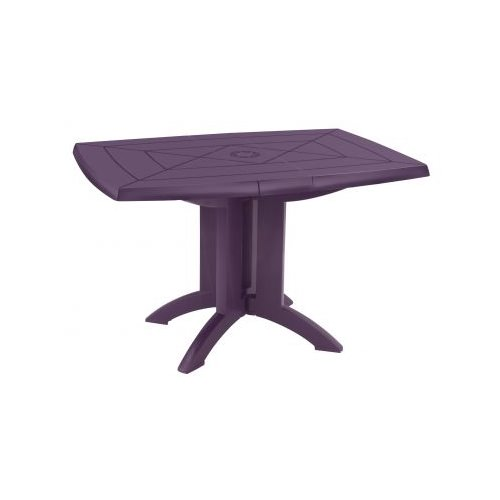 tables de jardin vega o98cm 118cm purple